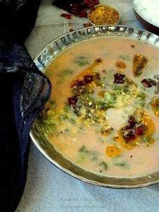 Amaranth Lentil curry