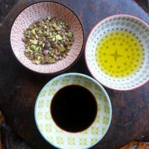 new crunchy egyptian dukkah with pistachio and lemon myrtle