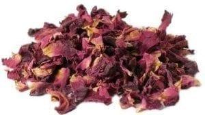 damask rose petals