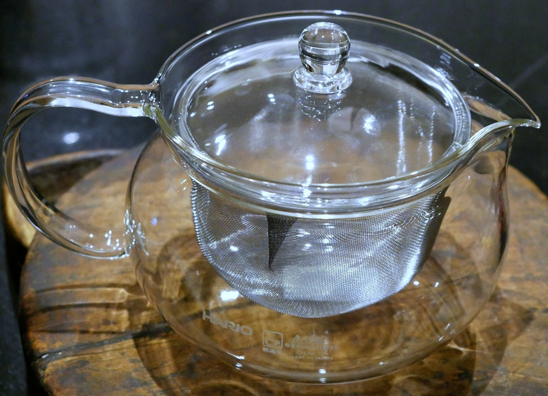 glass infuser tea pot