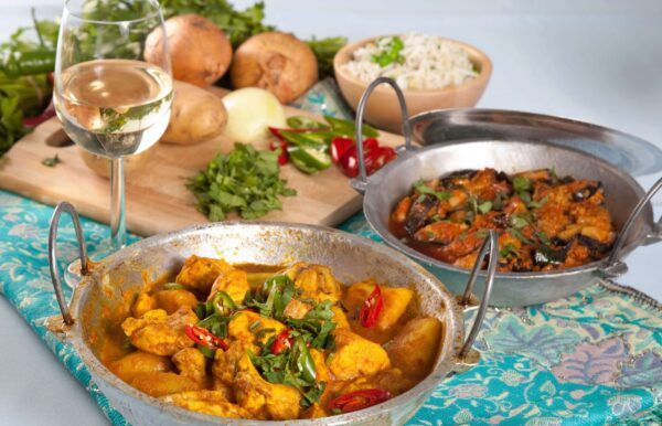 home cooked curry dishes