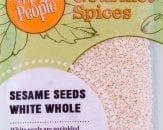 sesame seeds white whole