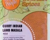 curry indian lamb masala
