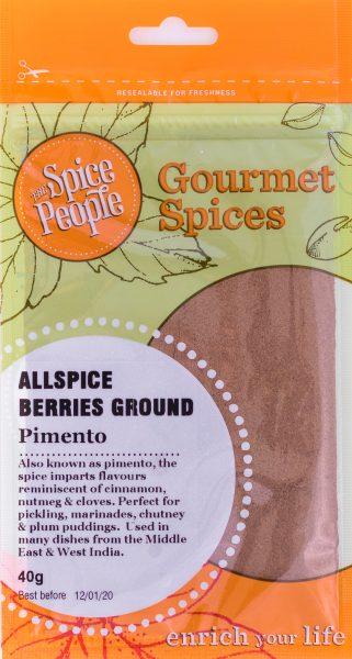 allspice berries ground