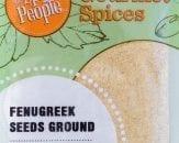 fenugreek seeds ground