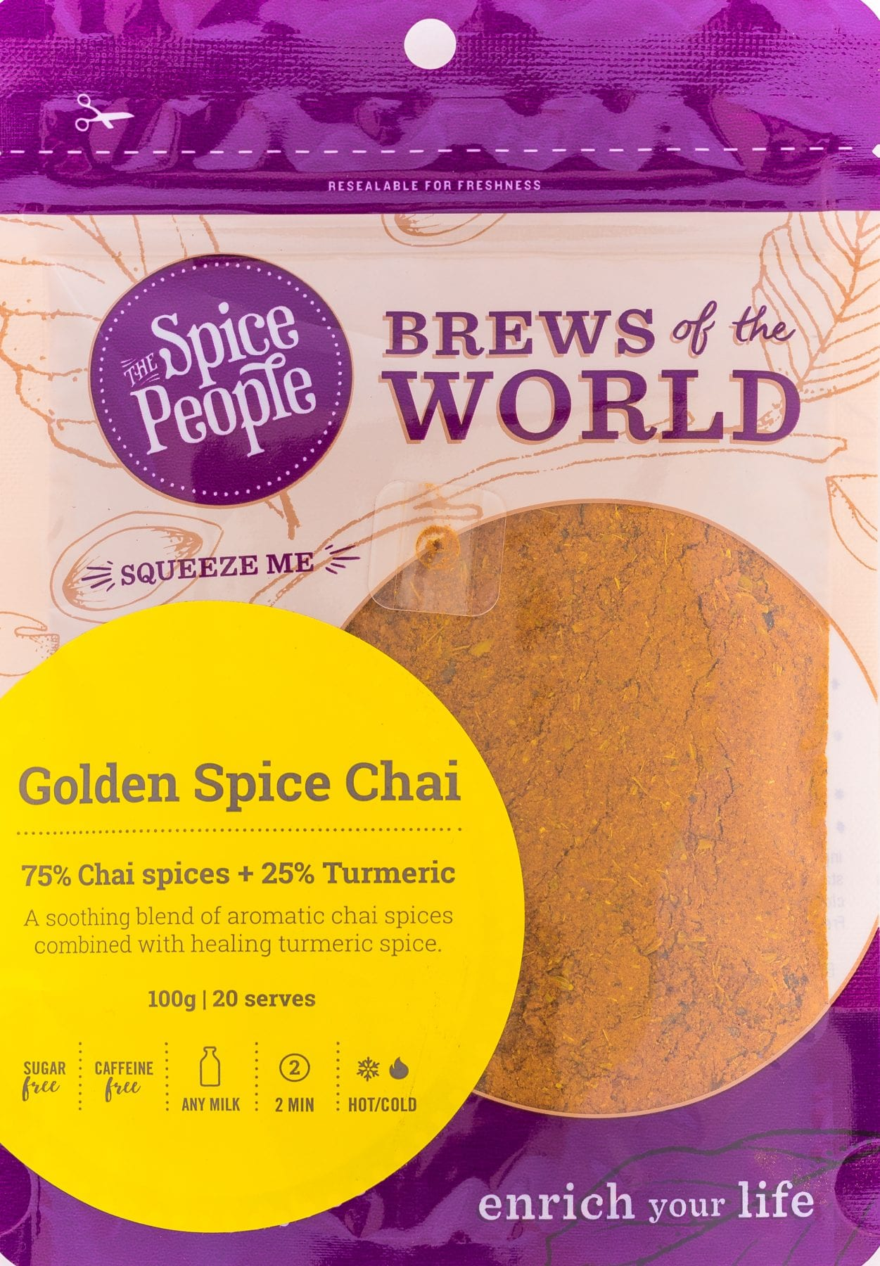 golden spice chai