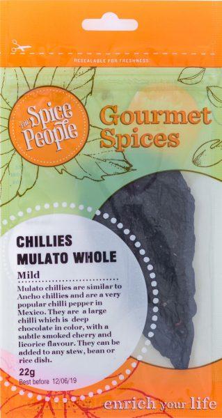 chilli mulato whole