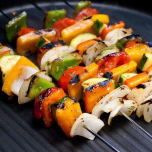 smoky grilled veggies