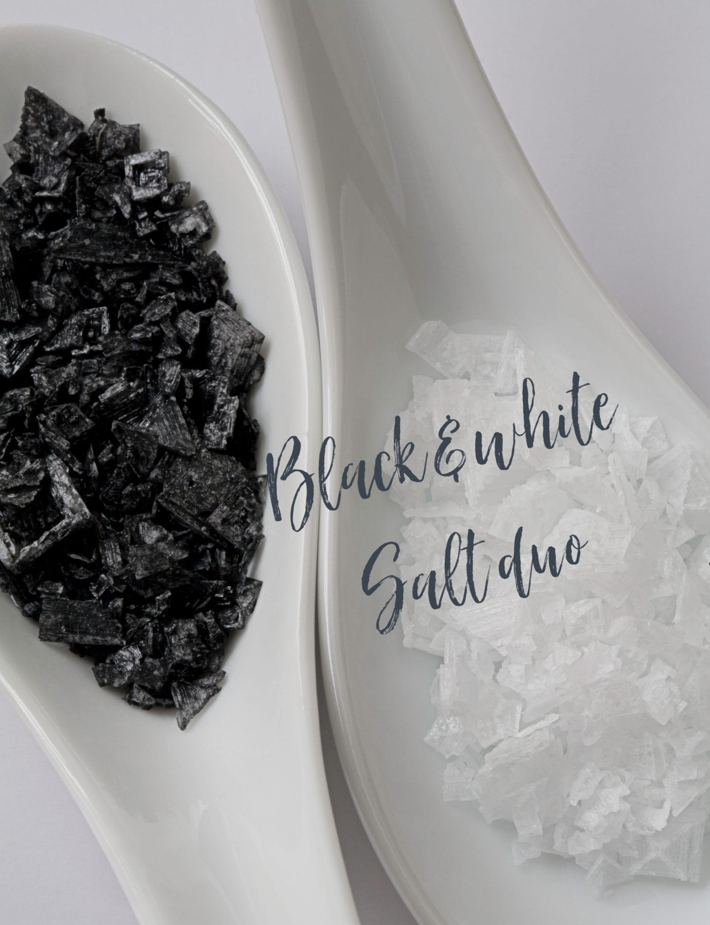black and white salt duo