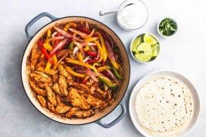 easy-chicken-fajitas