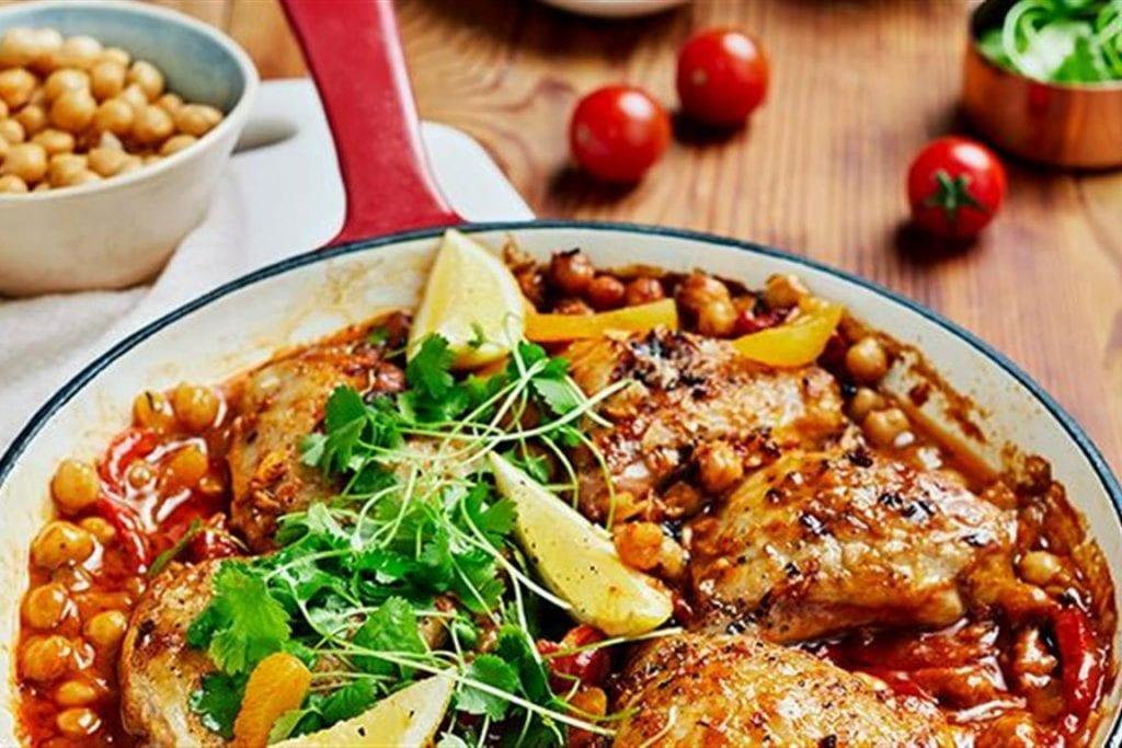 Moroccan Ras el Hanout Chicken Traybake