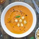 Lebanese Baharat Chickpea Soup